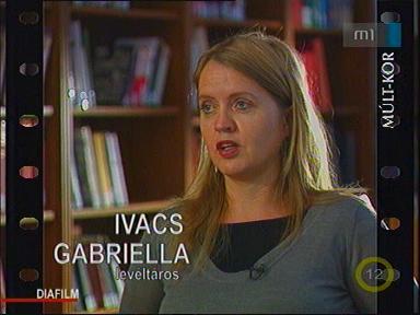 Ivacs Gabriella, levéltáros