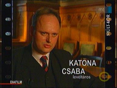 Katona Csaba, levéltáros