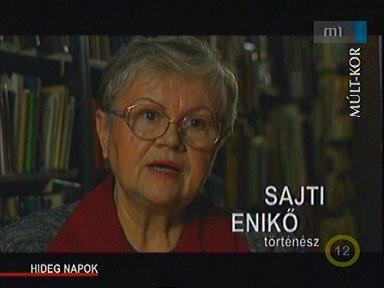 Sajti Enikő, történész