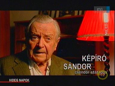 Képíró Sándor, csendőr százados