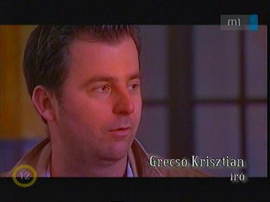 Grecsó Krisztián, író