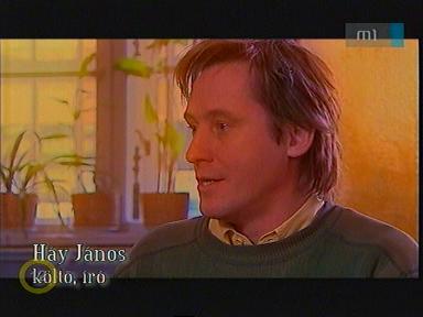 Háy János, költő, író