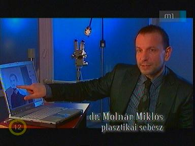 Dr. Molnár Miklós, plasztikai sebész