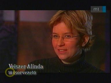 Veiszer Alinda, műsorvezető
