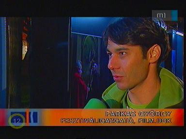 Farkas György, fesztiváligazgató, film.dok