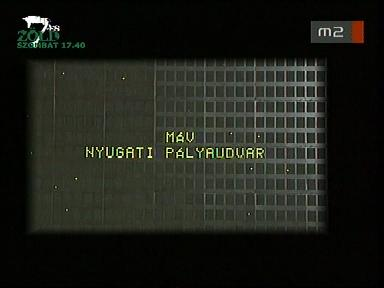 Mesélő cégtáblák: MÁV Nyugati pályaudvar