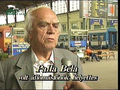 Palla Béla, volt állomásfőnök-helyettes