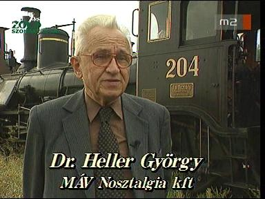 Dr. Heller György, MÁV Nosztalgia Kft.