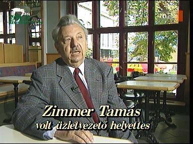 Zimmer Tamás, volt üzletvezető-helyettes
