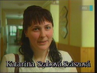 Katarína Szabová Szászová