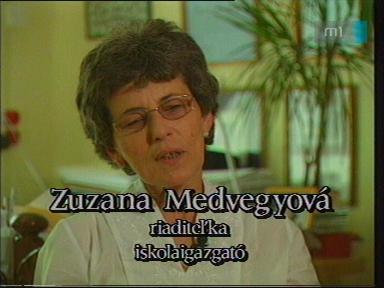 Zuzana Medvegyová, iskolaigazgató, Szlovák Általános Iskola, Óvoda és Diákotthon, Szarvas