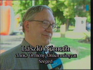 László Németh, elnök, örmény önkormányzat, Szeged