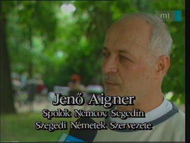 Jenő Aigner, Szegedi Németek Szervezete