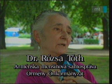 Dr. Rózsa Tóth, örmény önkormányzat