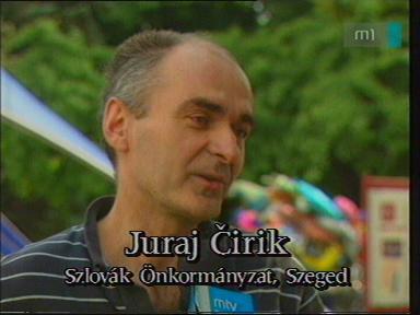 Juraj Cirik, szlovák önkormányzat, Szeged