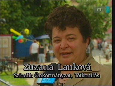 Zuzana Lauková, szlovák önkormányzat, Tótkomlós