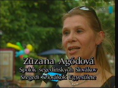 Zuzana Agódová, Szegedi Szlovákok Egyesülete
