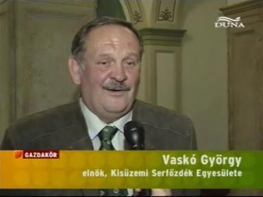 Vaskó György, elnök, Kisüzemi Serfőzdék Egyesülete