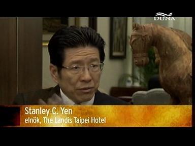 Stanley C. Yen, elnök, The Landis Taipei Hotel