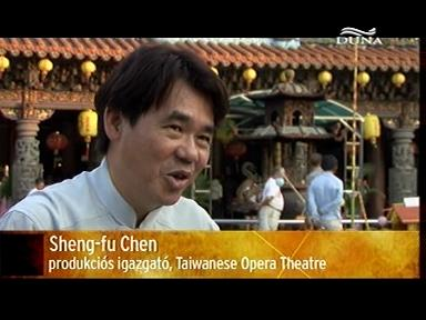 Sheng-fu Chen, produkciós igazgató, Taiwanese Opera Theatre