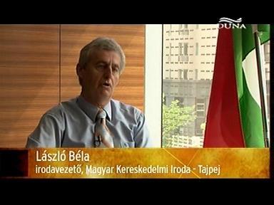 László Béla, irodavezető, Magyar Kereskedelmi Iroda, Tajpej