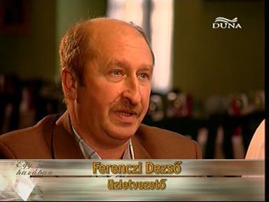 Ferenczi Dezső, üzletvezető