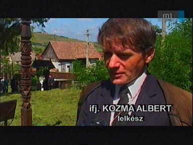 ifj. Kozma Albert, lelkész