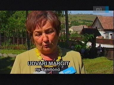 Udvari Margit, nyugalmazott tanítónő