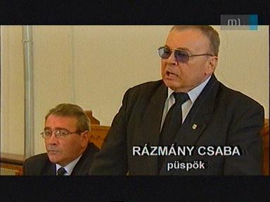 Rázmány Csaba, püspök