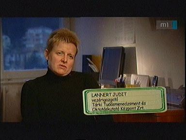 Lannert Judit, vezérigazgató, Tárki Tudásmenedzsment és Oktatáskutató Központ Zrt.