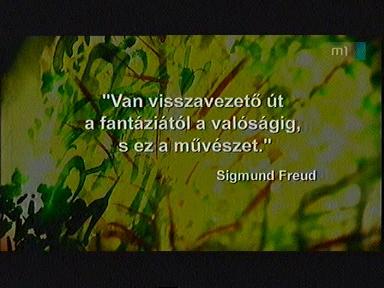 Sigmund Freud-idézet a művészetről