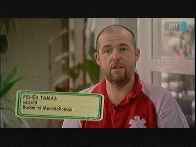 Fehér Tamás, vezető, Budaörsi Mentőállomás