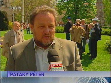 Pataky Péter, elnök, Magyar Szakszervezetek Országos Szövetsége