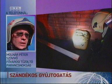 Molnár Péter, szóvivő, Fővárosi Tűzoltóparancsnokság