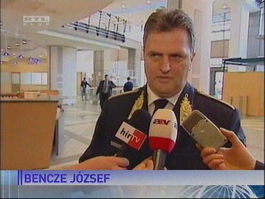 Bencze József, altábornagy, országos rendőrfőkapitány