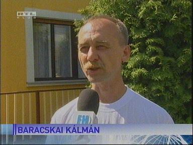Baracskai Kálmán, polgárőr-vezető, Zalaszentlászló