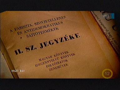 """Képtalálat a következőre: """"a fasiszta szovjetellenes antidemokratikus sajtótermékek jegyzéke"""""""