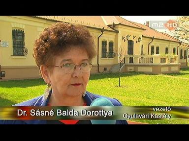 dr. Sásné Balda Dorottya, vezető, Gyulavári Kastély