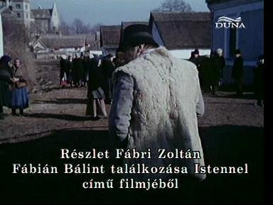 Fábri Zoltán: Fábián Bálint találkozása Istennel (1980) (részlet)