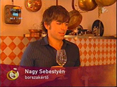Nagy Sebestyén, borszakértő
