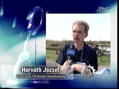 Horváth József, főszervező, FM Rendőr-főkapitányság
