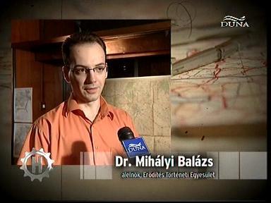 dr. Mihályi Balázs, alelnök, Erődítés Történeti Egyesület
