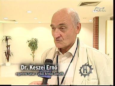 dr. Keszei Ernő, egyetemi tanár, Fizikai Kémiai Tanszék