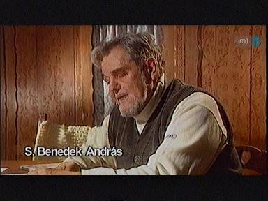 S. Benedek András író, költő, irodalomtörténész