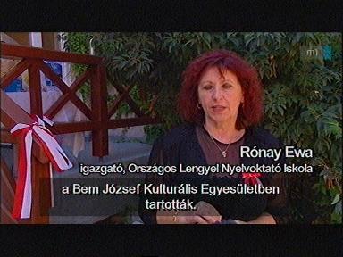 Rónay Ewa, igazgató, Országos Lengyel Nyelvoktató Iskola