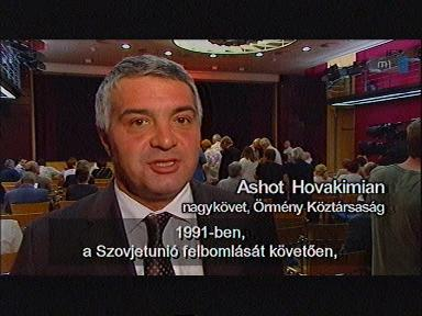 Ashot Hovakimian, nagykövet, Örmény Köztársaság