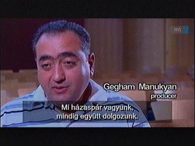 Gegham Manukyan, producer