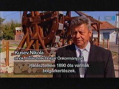 Kusev Nikola, elnök, Bolgár Önkormányzat, Halásztelek