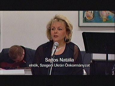Sajtos Natália, elnök, Szegedi Ukrán Önkormányzat
