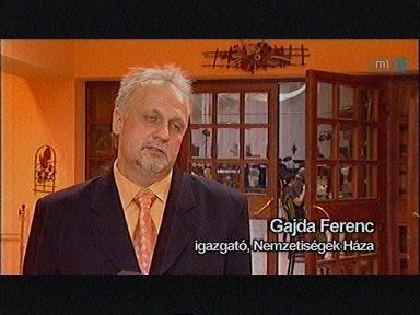 Gajda Ferenc, igazgató, Nemzetiségek Háza